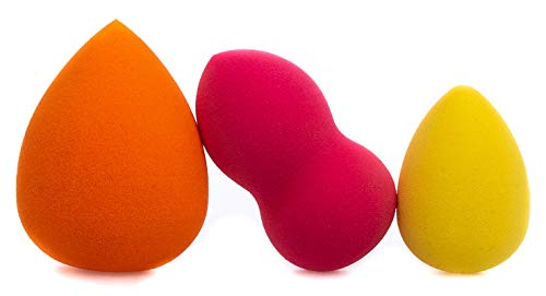 3x Make-up Schwamm - Makeup Schwamm, Make Up Schwämmchen, Blender Foundation Schwämme, BeautyBlender, Makeup sponge