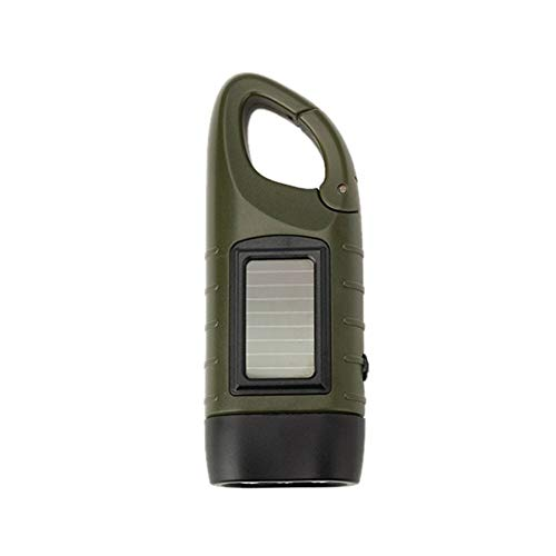 Al aire libre multifuncional LED energía solar mini emergencia manivela dinamo linterna recargable lámpara de carga potente para la seguridad regalo de supervivencia