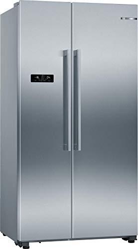 Bosch KAN93VIFP Serie 4 Americanos lado a lado/A++ / 178,7 x 90,8 cm / 363 kWh/año/Inox-antifingerprint / 371 L refrigerador / 189 L parte congelador/NoFrost/IceTwister