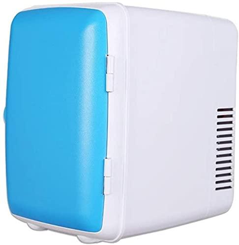 QHCS Refrigerador para automóvil Mini refrigerador pequeño para automóvil Caja electrónica de frío y Calor Refrigerador para automóvil de 4 litros Refrigerador pequeño para el hogar de una Sola p