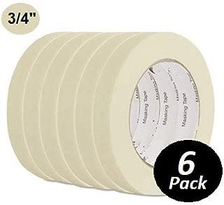 1InTheOffice General Purpose Masking Tape, 3/4 Inch x 60 Yards, 3
