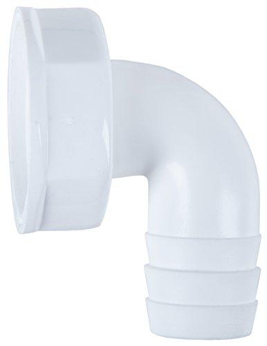 Cornat Kunststoff Winkel-Schlauchanschluß, 1 Zoll, 90, TEC356394