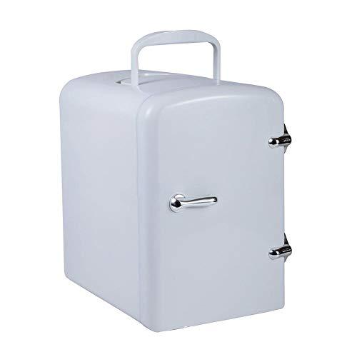 Quuy - Frigorifero da viaggio, mini frigo da 4 litri, termoelettrico, portatile, per camera da letto, cosmetici, auto da ufficio a casa