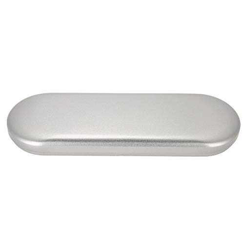 Boîte de rangement, petite pince à épiler professionnelle durable Boîte de rangement pour outil de maquillage des pinces pour extension de cils (argent)