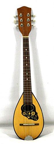 Musikalia luthier-crafted saitigen Griechisch Baglama serigraphed Walnuss und Ahorn Holz
