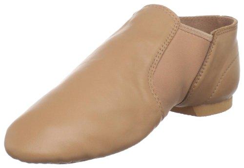 Dance Class Women's GB301 Spandex Gore Jazz Boot,Light Suntan,8 M US