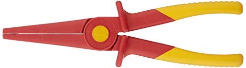 KNIPEX Flachrundzange aus Kunststoff isolierend 1000V-isoliert (220 mm) 98 62 02