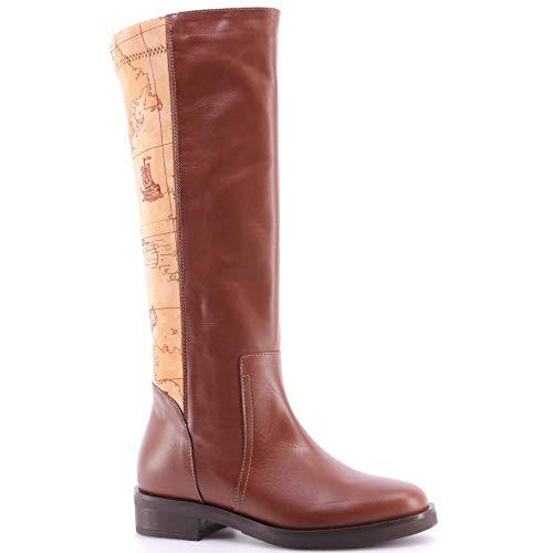 Scarpe Donna Stivali ALVIERO MARTINI 1°Classe ZI389G417 Woman Boot Cocoa Geo IT