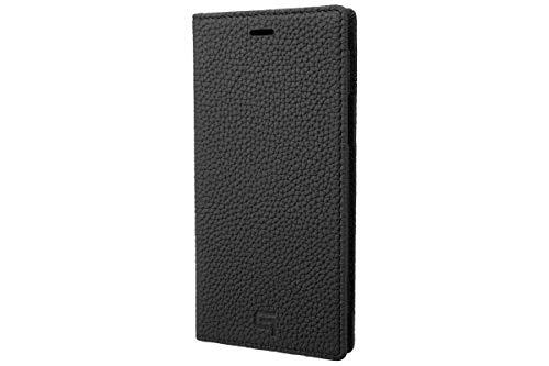 GRAMAS Shrunken-calf Leather Book Case for iPhone 11 Pro(ブラック)