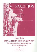 TONLEITERN 2 - arrangiert für Saxophon [Noten / Sheetmusic] Komponist: ROTH IWAN