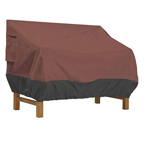 SASDA Meubles de Jardin Couvrent la Couverture des chaises Canapé d'extérieur Table de Jardin Couvre Housse imperméable Anti-poussière Souffle de Protection Oxford Tissu Causeuse,Le café et Le