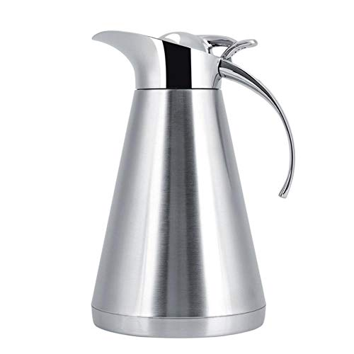 1000ml RVS Koffie Theepot Theepot Ketel Vacuüm Isolatie Thermo Kruik