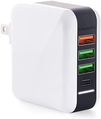 USB Wall Charger Quick Charge and Type C Ports Power Delivery Charger Plug Adapter for Smartphones product image