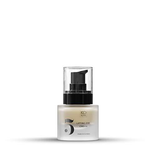 Crema de reafirmación de ojos, principio activo patentado Argireline®, contra arrugas y bolsas de lágrimas, reducción de la profundidad vegano, 15 ml de KÖ-KLINIK