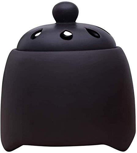 Electric Innerense-Brenner Rauch Froueless Inzese Burner Keramik Timer bei Temperatur einstellbar für Home Office - ätherisches Öldiffusor der Aromatherapie Xping