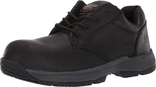 Dr. Martens Linnet SD Non-Metallic Steel Toe 4-Eye Shoe Black Connection UK 11 (US Men's 12) Medium