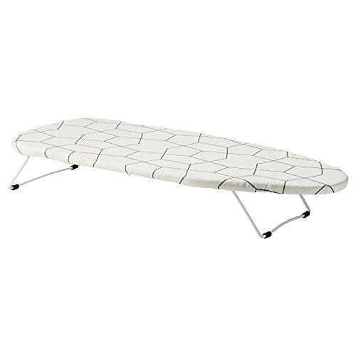 Ikea Jall - asse da stiro pieghevole, mini tavolo da stiro, postazione pratica e salvaspazio