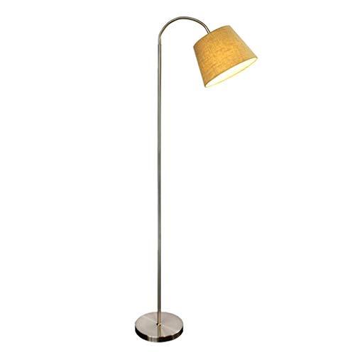 Thuis vloerlamp Staande lampen Nordic stoffen kap lamp bedlampje slaapkamer vloerlamp bank in de woonkamer lamp eenvoudig modern creatieve verticale Floor Lamp lili
