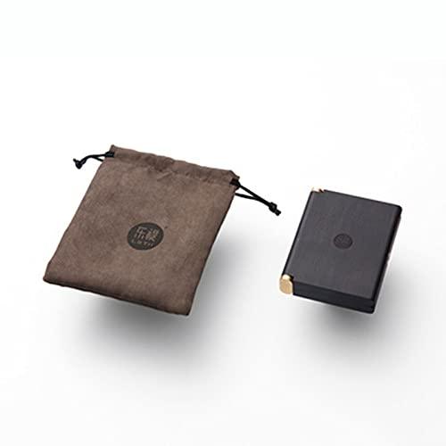 LLZX La Caja de Cigarrillos portátil de Palisandro Puede Contener 16 Cigarrillos de 84 mm, Caja de Cigarrillos de Madera Maciza Creativa de Regalo