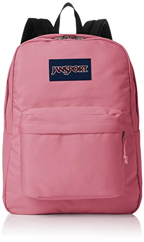 JANSPORT SuperBreak Blackberry Mousse Backpack -  Pink -  One size