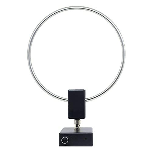 Desconocido Generic Antena de Bucle Profesional Antena de Onda Media Corta MW 522-1710KHz con líneas de alimentación
