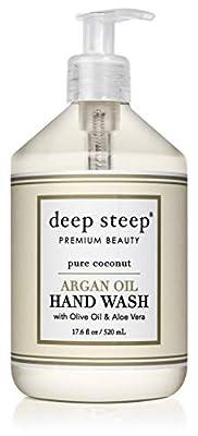 Deep Steep Argan Oil Liquid Hand Wash, 17.6 Ounce