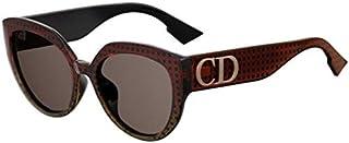 e940c506a4 Christian Dior DDIORF VC Gafas, GDBRW MTZBRW/BW Marrone, 56 Mujeres
