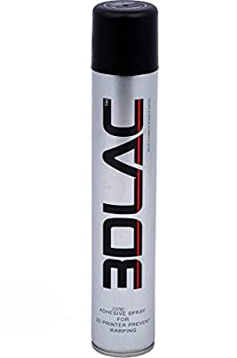 3DLAC spray adhesive for perfect adhesion to the 3D printer print bed, 400 ml