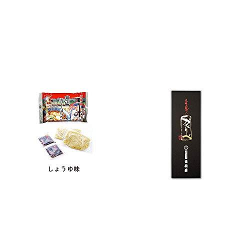 [2点セット] 飛騨高山ラーメン[生麺・スープ付 (しょうゆ味)]・岐阜銘菓 音羽屋 飛騨のかたりべ[6個入]