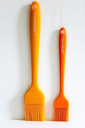 AsOne Kitchen Creations - Juego de 2 brochas de Silicona
