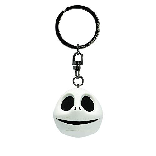 The Nightmare Before Christmas - Jack 3D Kopf - Schlüsselanhänger | Offizielles Merchandise | Disney