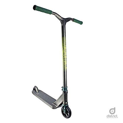 District HTS – City-Roller, Pro-Stunt-Scooter, vollständig, Perle/Schwarz