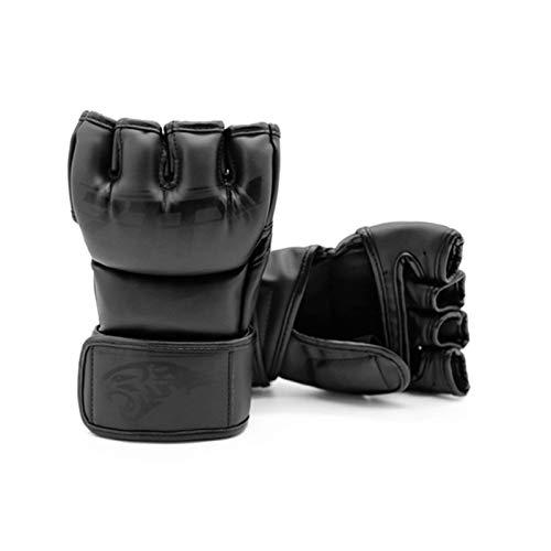 Luvas de boxe, Romacci Luvas MMA para Homens Mulheres Luvas de Kickboxing Luvas de Boxe com a palma da mão aberta Luvas de Sacos de Perfuração para Boxe Kickboxing Sparring Muay Thai