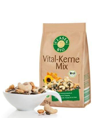 CLASEN BIO Vitalkerne-Mix - 175g, von Natur aus vegan und glutenfrei, biologischer Anbau