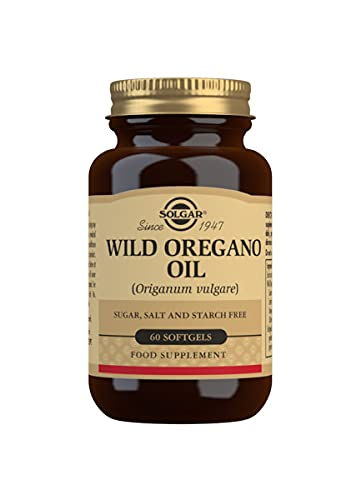 Solgar Wild Oregano Oil Softgels, Pack of 60