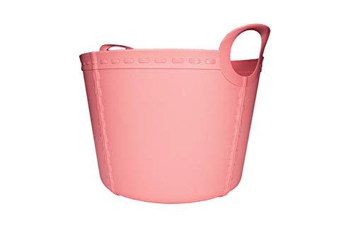 SP Berner - Barreño Grande | Cubo de Plastico con Asas - 40 litros - Rosa