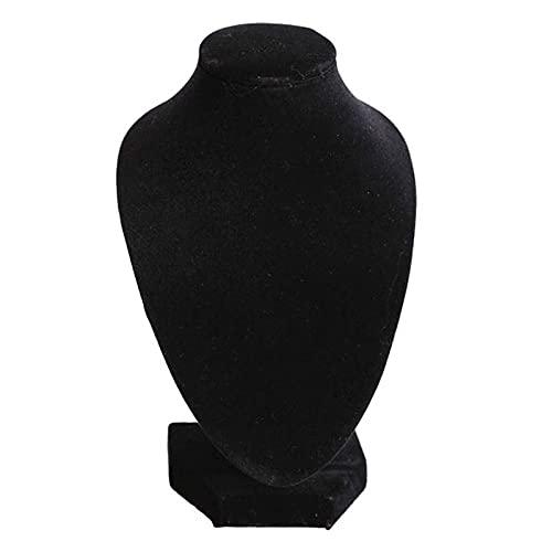 Shanshu Maniquí collar joyería colgante soporte exhibición exhibición exhibición demostrar decoración herramienta