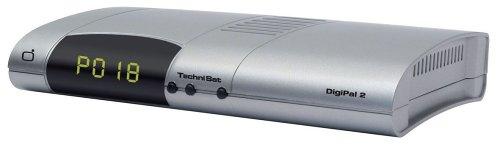 TechniSat DigiPal 2 DVB-T Receiver (inkl. Digiflex TT 2 Stabantenne) Silber