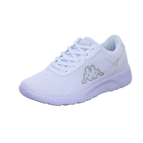 Kappa Damen Tunes OC W Sneaker, 1010 White, 40 EU