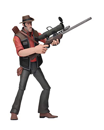 NECA - Team Fortress 2 - 7' Scale Action Figures - Series 4 RED - Sniper