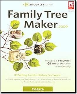 Family Tree Maker 2009 Deluxe