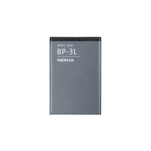 Nokia BP-3L Batteria Originale al Litio per Modelli 603/Lumia 710 ,1300 mAh, Grigio