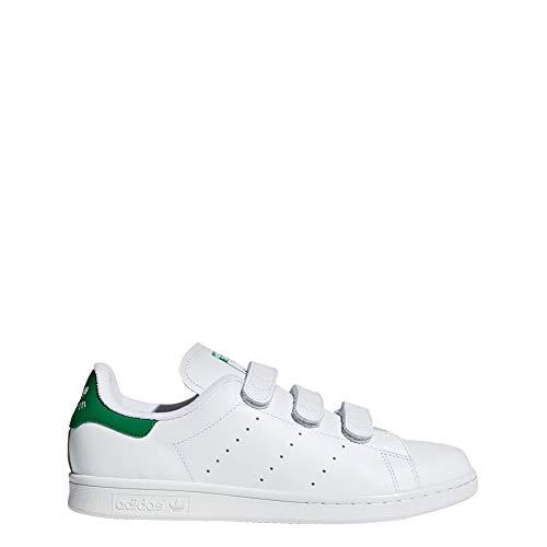 adidas - Stan Smith CF - S75187 - Couleur: Blanc-Vert - Pointure: 42.0