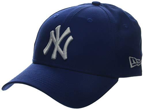 New Era - MLB BASIC NY YANKEES 9FORTY ADJUSTABLE LIGHT ROYAL, Baseball beretto da uomo, blu (blue (bleu)), única