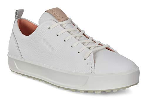 ECCO Damen Soft Golfschuhe, Weiß (Blanco 000), 39 EU