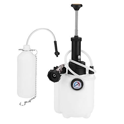 Gototop Purgeur de frein, capacité 3 L, Kit de purge de liquide de frein et d'embrayage avec adaptateur universel