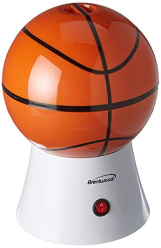 Basketball Shaped Popcorn Maker, Orange