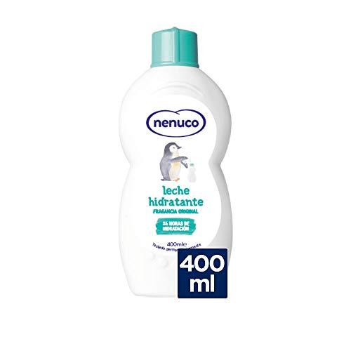 Nenuco - Leche Hidratante para Bebé Fragancia Original 24h de Hidratación - 400 ml