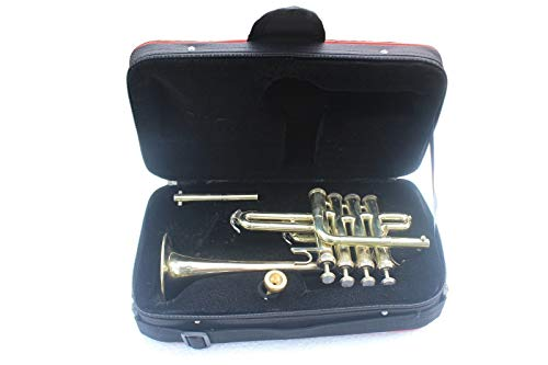 BEST BRANDED Nasir Ali PiTr-02, Piccolo Trumpet, Bb, BRASS