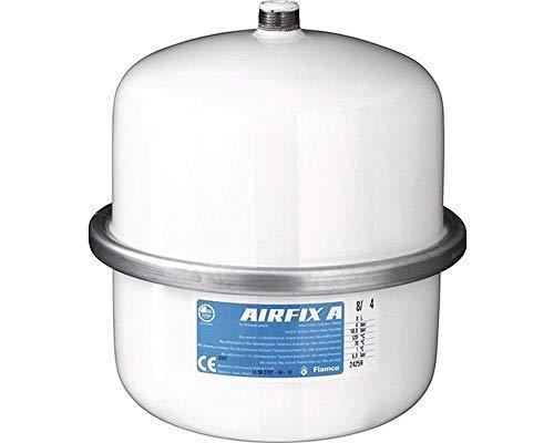 Flamco 24259 Airfix A Ausdehnungsgefäß, 8 L, 4 bar für Brauchwasseranlagen, weiß
